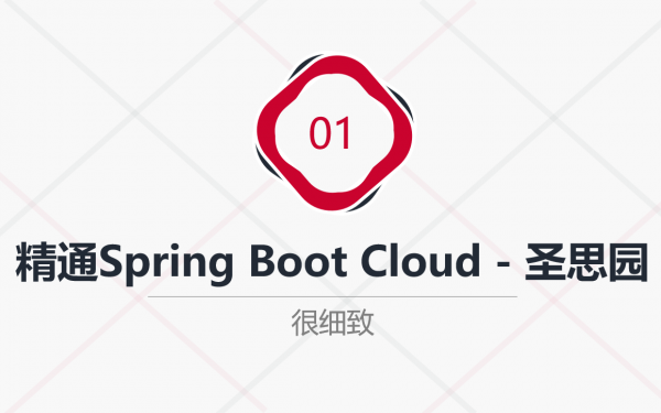 通晓Spring Boot与Cloud