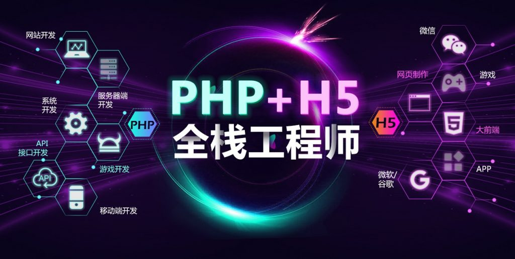 PHP+H5全栈工程师培训