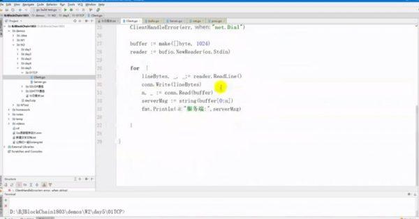 资深GO言语工程师实战课程视频截图