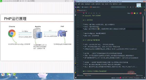 PHP中文网第六期线上培训班 课程视频截图