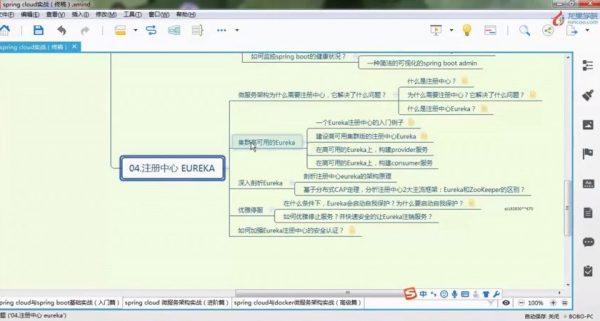漫谈spring cloud 与 spring boot 基础架构 课程视频截图