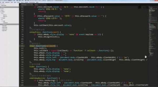 零基础完成网易Mini项目开发 视频截图