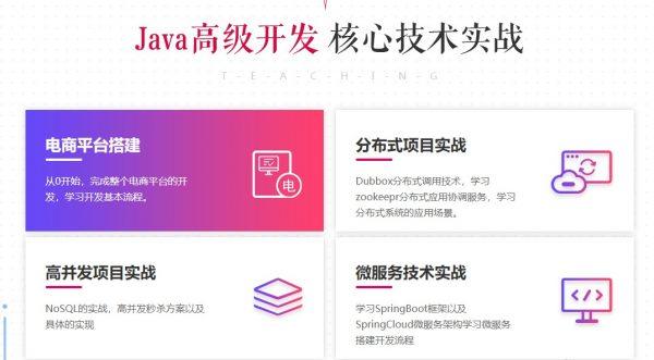 Java高档开发核心技能实战